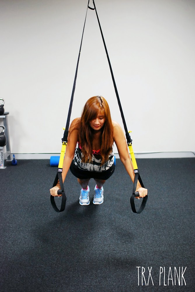 Fitness First Gym Parramatta TRX Plank