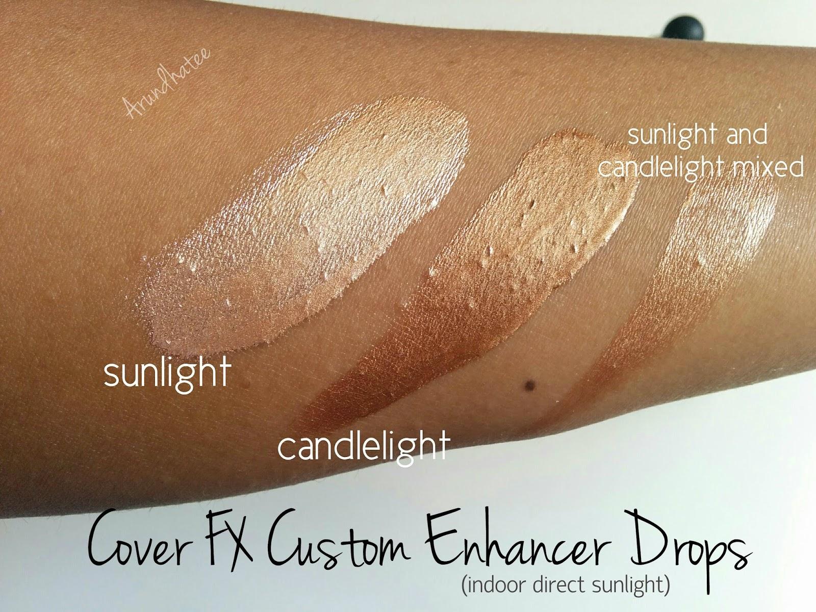 Custom Enhancer Drops by Cover FX #22