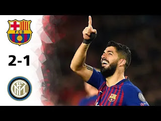 Barcelona vs Inter Milan 2-1 All Goals And Match Highlights [MP4 & HD VIDEO]