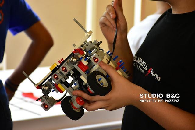 Δωρεάν μαθήματα ρομποτικής στο Ναύπλιο