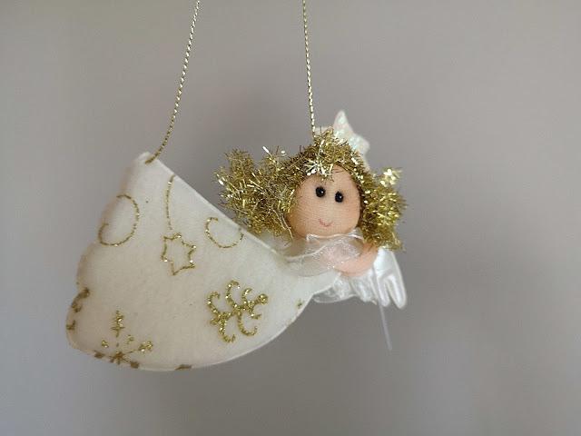 Adorno ángel Navidad