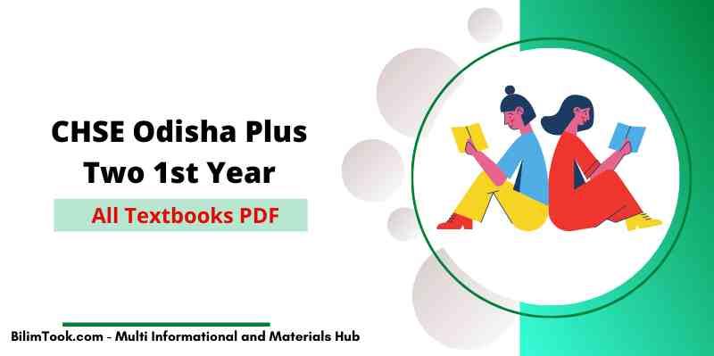 CHSE Odisha Plus Two 1st Year Science All Textbooks PDF 2021, +2 Books
