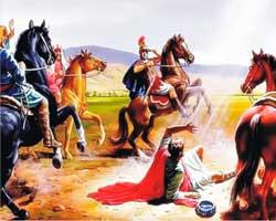 Paulo e os cavalos