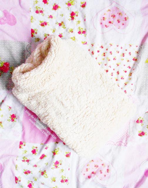 Femme Luxe Refinery Cream Sherpa Oversized Jumper - Keilani Blog de la Licorne