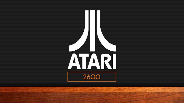 Papel De Parede Vintage Atari
