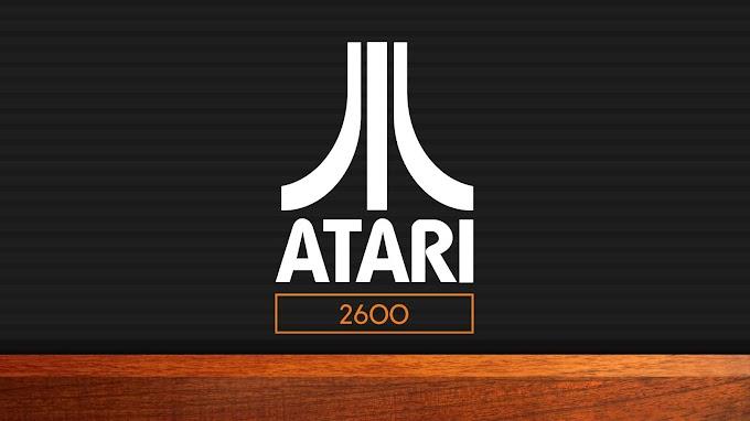 Papel De Parede Retro Vintage Atari