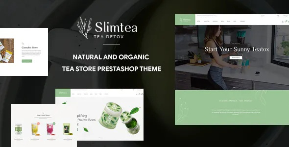 Best Natural And Organic Tea Store Pretashop Theme