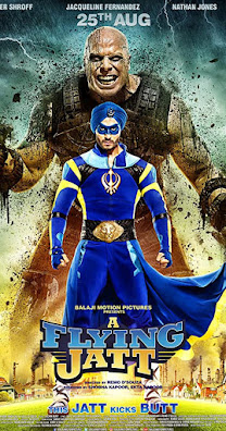 Download A Flying Jatt (2016) Hindi Full Movie BluRay 480p [400MB]   720p [1.2GB]