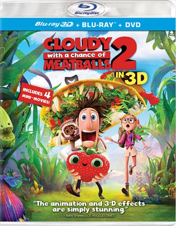 Cloudy With A Chance Of Meatballs 2 (2013) Dual Audio Hindi 720p BluRay 950mb