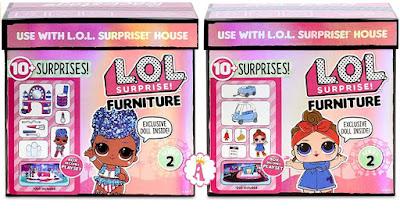 Мебель Лол Сюрприз вторая волна куклы Independent Queen и Can Do Baby
