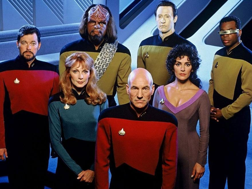 Elenco principal de Star Trek: Next Generation