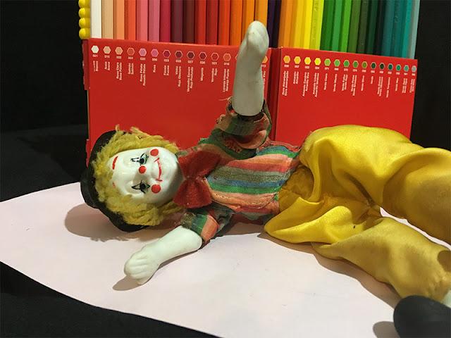 boneco de porcelana restaurado