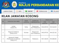 Jawatan Kosong di Majlis Perbandaran Kemaman - Gaji RM 1,352 - RM9,643