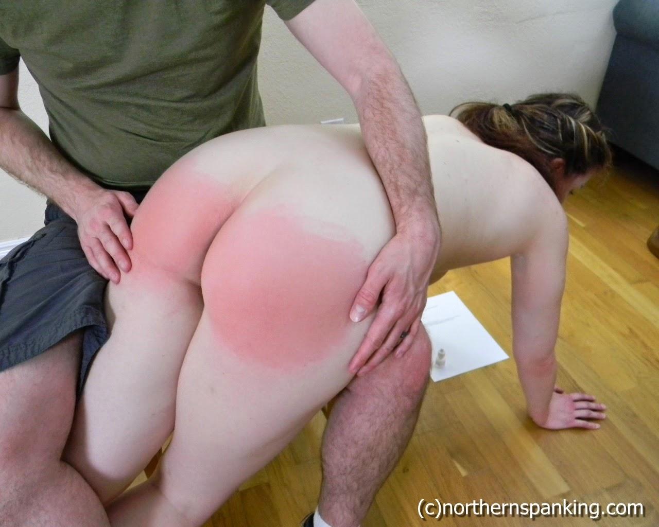 Agree, I spank my wife otk remarkable