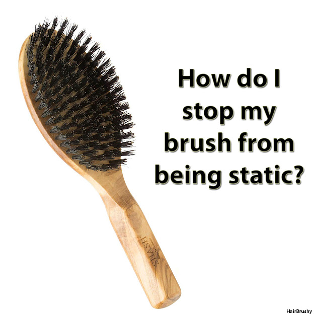 How to stop brushes from being static?
