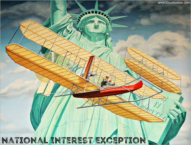 National Interest Exception para Viajar a Estados Unidos