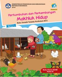 Buku tema 1 Siswa Kelas 3 K13 2018