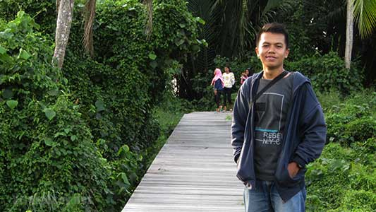 Mangrove Park di kawasan Menara Suar Tanjung Intan Desa Sungai Kupah Kubu raya