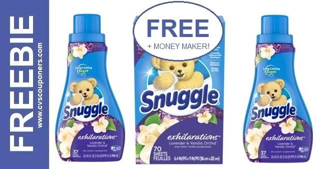 Free Snuggle Fabric Softener CVS Deals 6-6-6-12Free Snuggle Fabric Softener CVS Deals