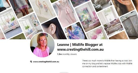 Midlife Pinterest Boards - Leanne | crestingthehill.com.au
