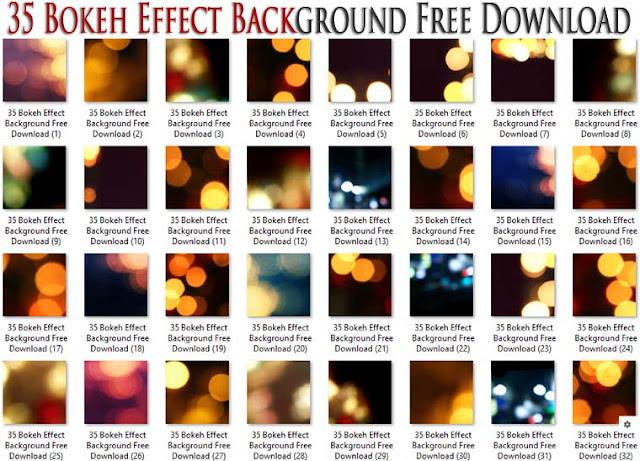 35 Bokeh Effect Background