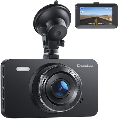 Review Crosstour CR300 FHD Car DVR Dashboard Camera
