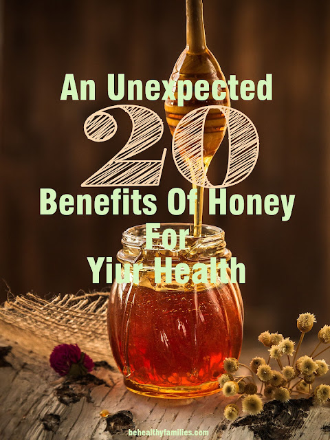 Honey provides various benefits for health.