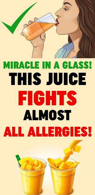 Miracle In A Glass: This Juice Fights Almost All Allergies!