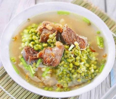 resep masakan sup kambing kacang hijau