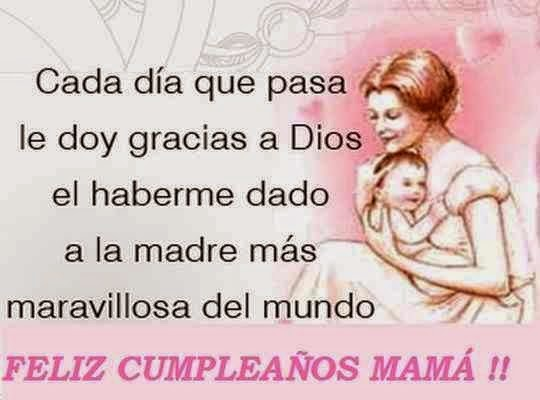 cumpleaños mamá