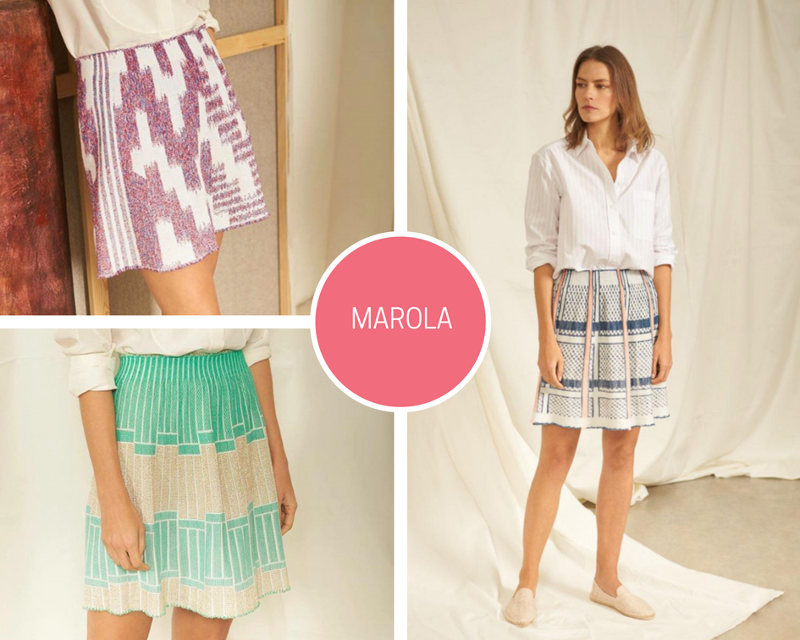como combinar una falda para ir a la oficina skirt fashion style made in barcelona