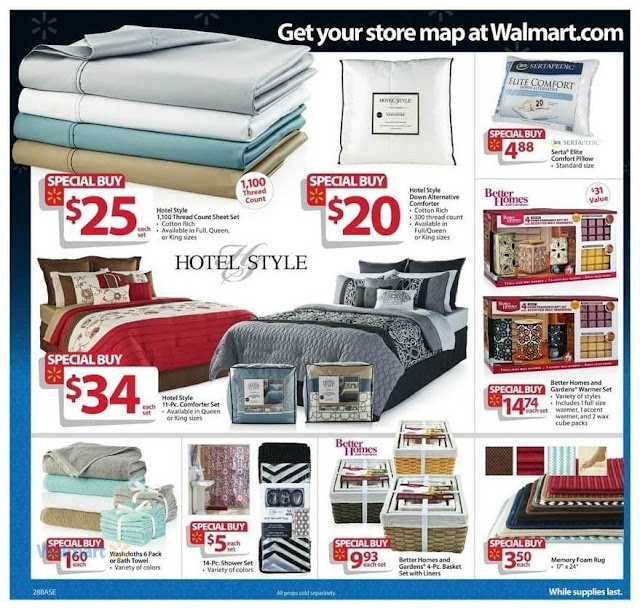 Black Friday Walmart 2016 Hotel Style Comforter Sets and Comfort Pillow.jpg