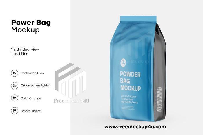 Matte Food Paper Bag Mockup Psd Free Download