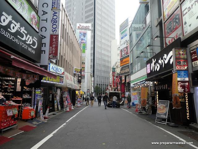 calles de Ikebukuro