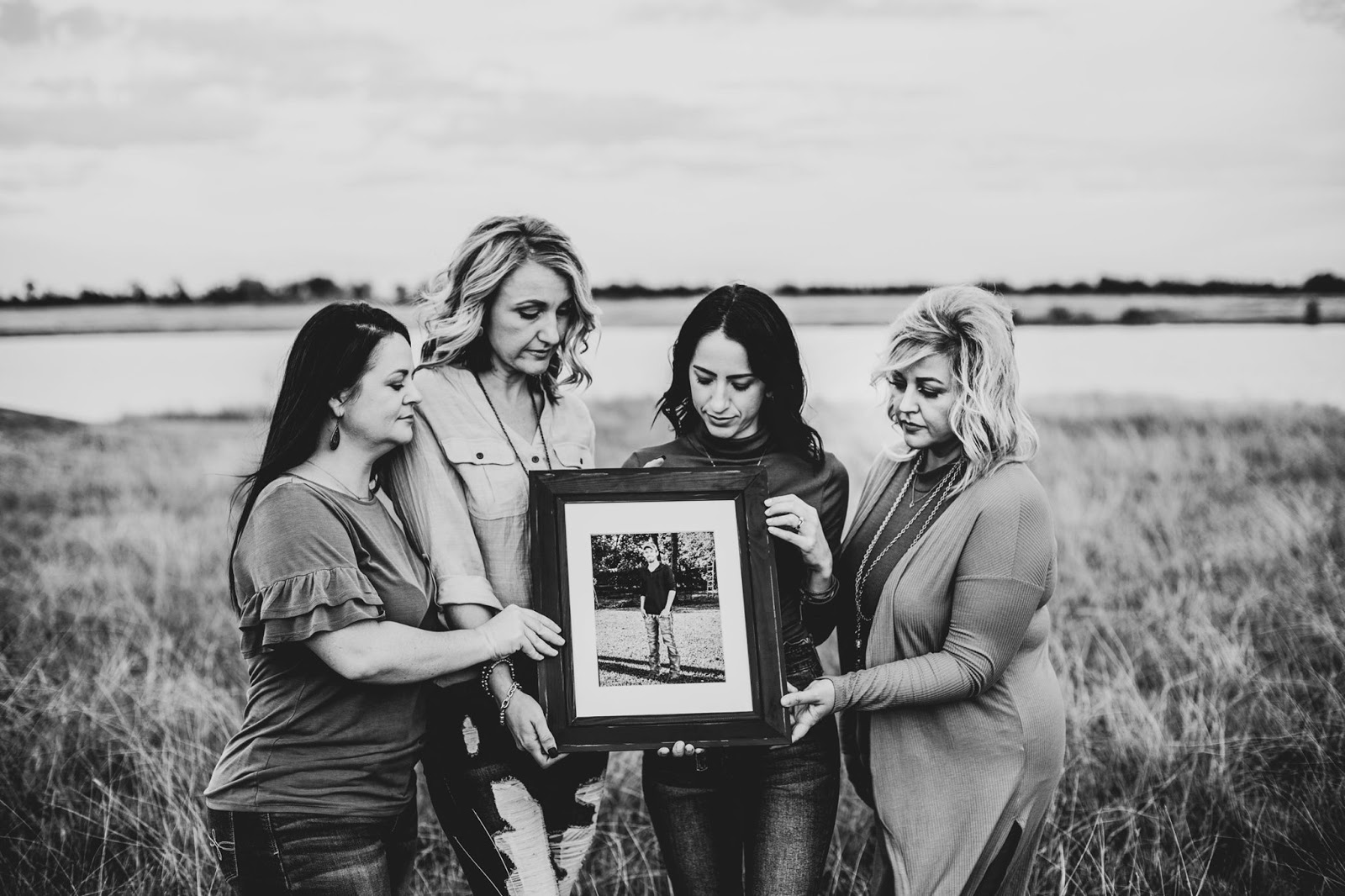 Honoring a loved one in family photos