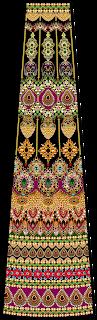 Jewelry Print Lehenga Choli Textile Digital Design 2750
