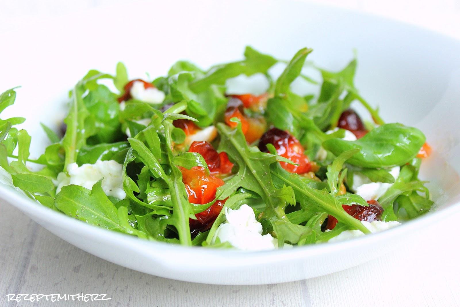 mozzarella salat caprese salat thermomix rezept. Black Bedroom Furniture Sets. Home Design Ideas