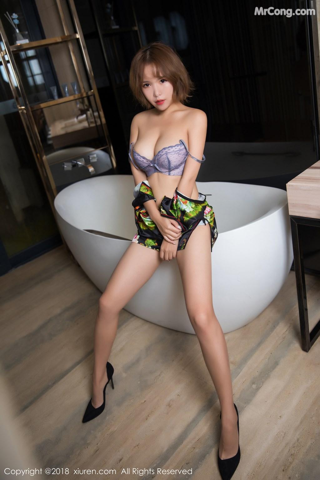 Image XIUREN-No.1264-Ya-Wen-MrCong.com-027 in post XIUREN No.1264: Người mẫu Ya Wen (雅雯) (61 ảnh)