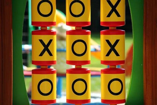 aprende ingles juego tres en raya tic tac toe