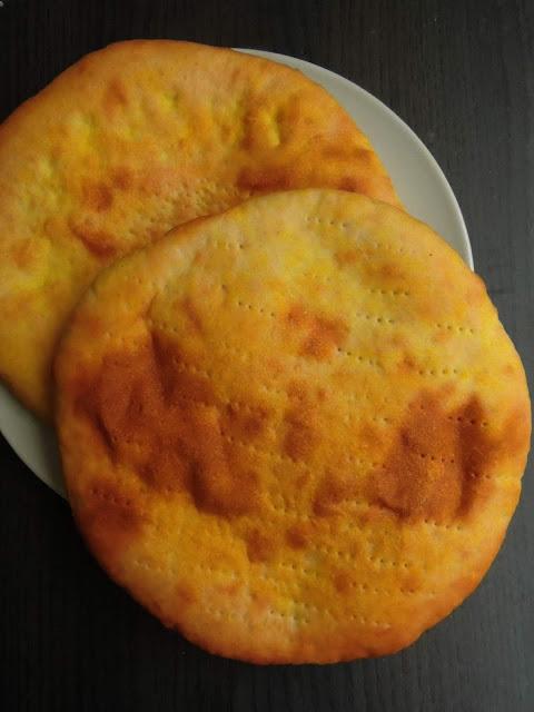 Pakistani Taftan Bread