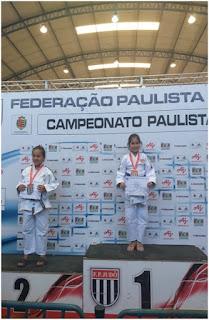 Atleta da ARJU  SAGRA-SE CAMPEÃ PAULISTA DE JUDÔ SUB-9