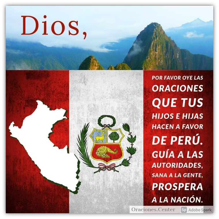 Oraciones por el Perú - Presidente, Salud y Economía