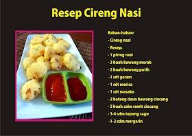 Resep Cireng Nasi Empuk dan Enak