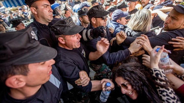 Cyprus police use tear gas at protest against the closure of crossings