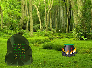 Juego Monster Magical Forest Escape