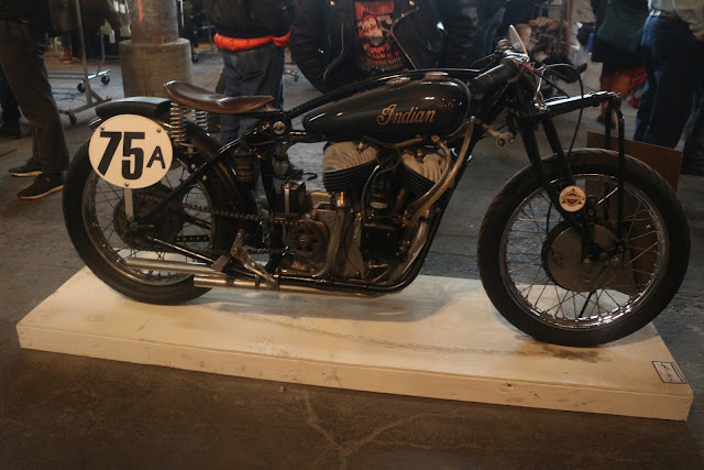 the one moto show number 9 custom build bobber indian motorcycles