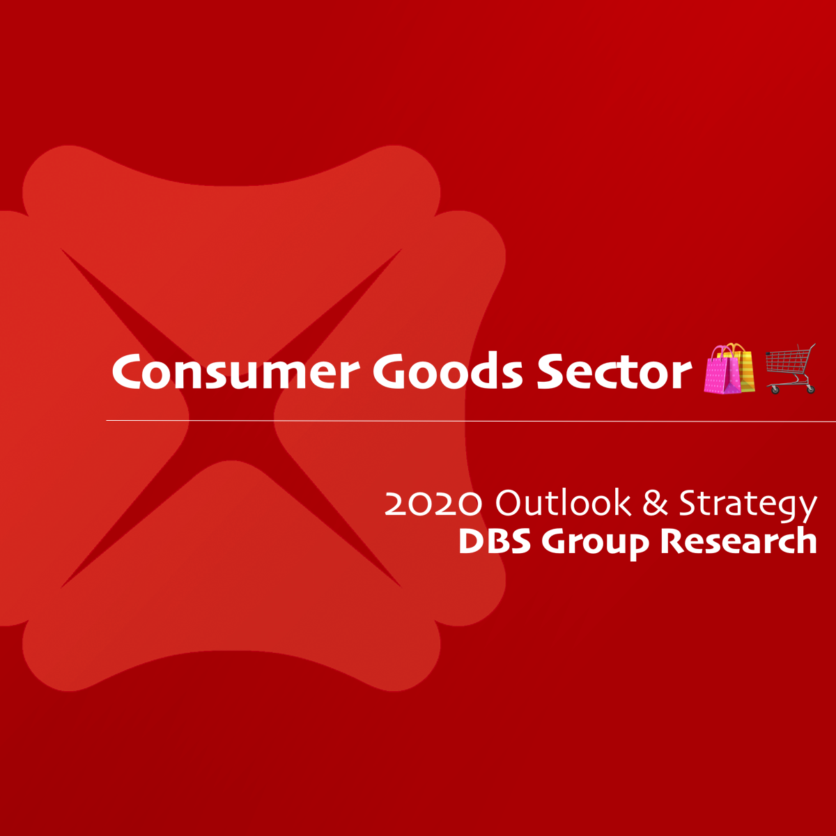 Consumer Goods Sector 2020 Outlook & Strategy - DBS Research | SGinvestors.io