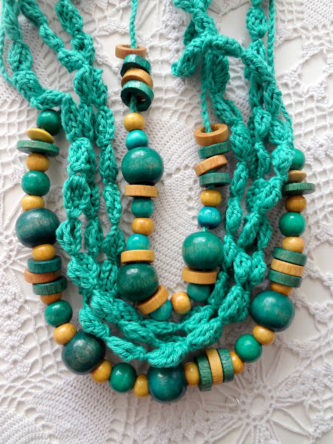 Back to Basics: Crochet & Wooden beads