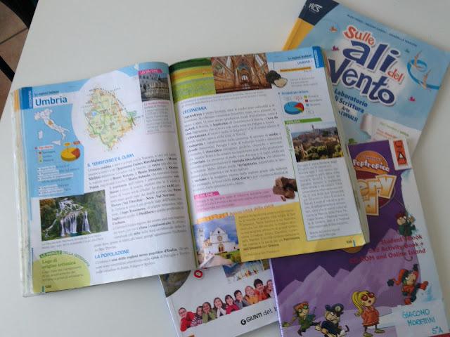 libri di testo scuola italiana