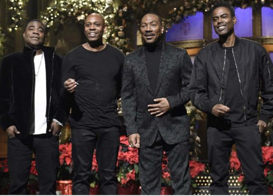 35-years after, Eddie Murphy returns to 'Saturday Night Live', and gives the show its best TV rating since May 2017